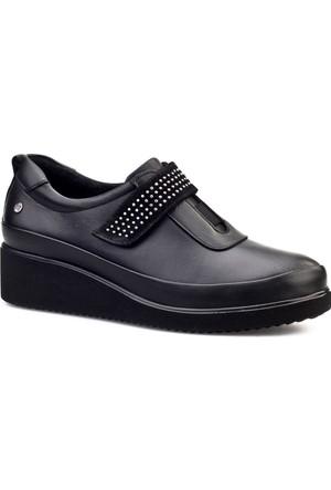 Cabani Çırt Bantlı Günlük Kadın Ayakkabı Siyah