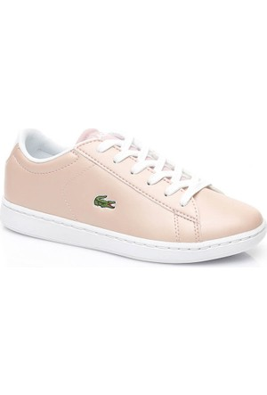 Lacoste Carnaby Evo Pembe Çocuk Sneaker 734Spc0006.15J