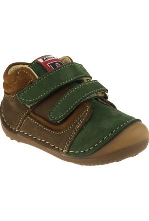 Perlina Erkek Çocuk 505 Papy İlk Adim Kahverengi Ayakkabı