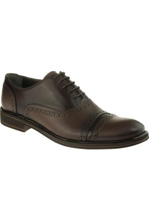 Alisolmaz 1241 Bağlı Klasik Kahverengi Erkek Ayakkabı