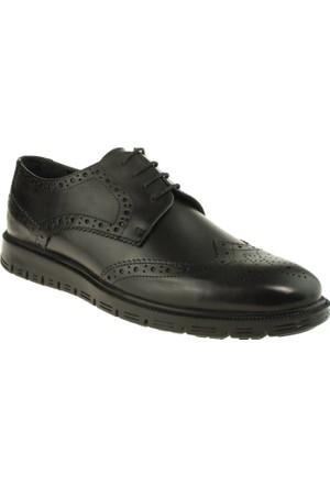 Alisolmaz 2933 Oxford Bağlı Siyah Erkek Ayakkabı