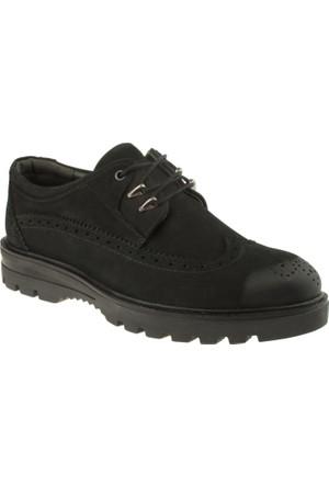 Alisolmaz 335 Oxford Bağlı Siyah Erkek Ayakkabı