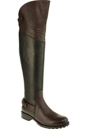 Venus Kadın 1705201 Tek Toka Fermuarli Çizme