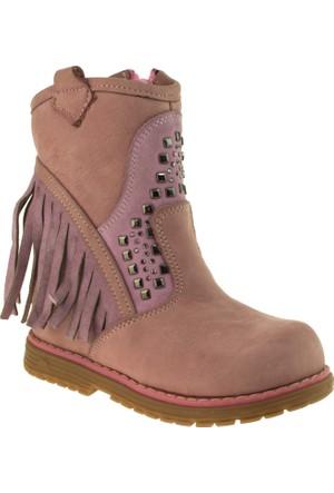 Perlina Kız Çocuk 703 Fermuarli Çizme