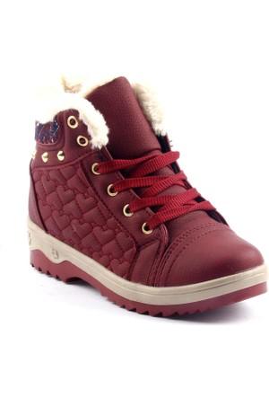 Twingo 6543 İçi Termal Kürklü Fermuarlı Kız Çocuk Bot Ayakkabı
