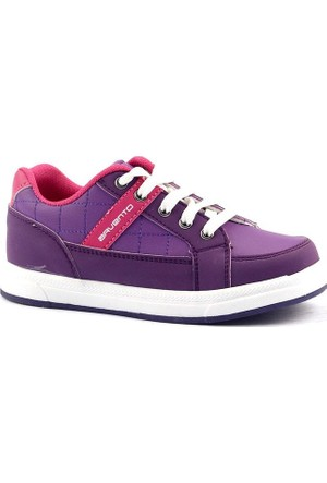 Arvento 895 Günlük Yürüyüş Koşu Fermuarlı Kız Çocuk Spor Ayakkabı