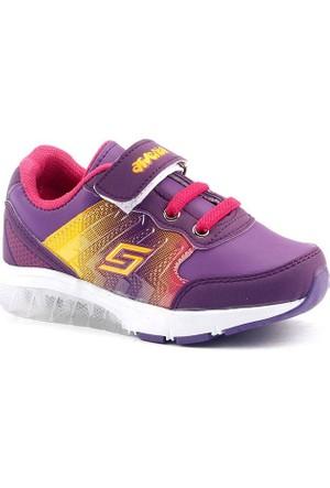 Arvento 930 Günlük Işıklı Cırtlı Rahat Kız Çocuk Spor Ayakkabı