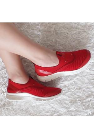 Modabuymus Streç Fileli Kadın Sneakers Yazlık Spor Ayakkabı