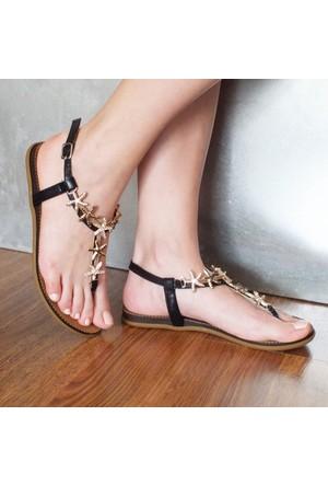 Modabuymus Taşlı Kadın Sandalet