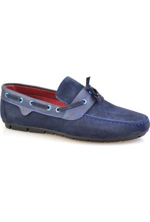 Altıntaş Lacivert Süet Erkek Günlük Ayakkabı