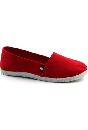 F.S.S. Freezone Kırmızı Deri Günlük Ayakkabı