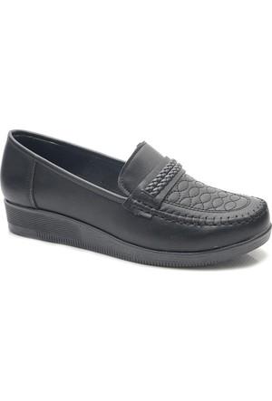 Lady 3365 Alçak Dolgu Topuk Günlük Bayan Ayakkabı