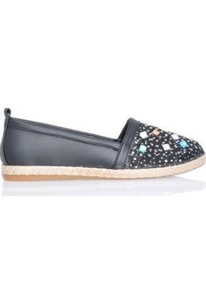 UK Polo Club P64924 Kadın Günlük Ayakkabı - Siyah