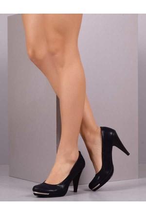 Peri Kızı Pietra Topuklu Lacivert