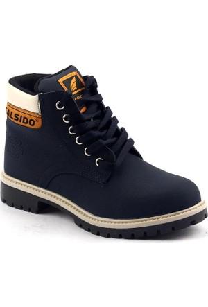 Calsido Termal Astarlı Termo Taban Erkek Bot Ayakkabı