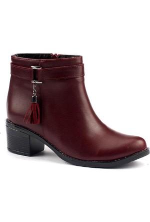 Demir S-50 Termal Taban 5 Cm Topuk Bayan Cilt Bot Ayakkabı