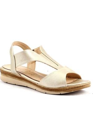 Classy 263 Günlük Hafif Taban Bayan Sandalet Cilt Ayakkabı