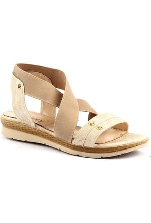 Classy 273 Günlük Hafif Taban Bayan Sandalet Cilt Ayakkabı