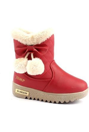 Jump 16704 İçi Termal Kürklü Fermuarlı Kız Çocuk Bot Ayakkabı