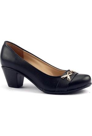 Ayakdaş 2934 Günlük 5 Cm Topuk Rahat Taban Kadın Klasik Ayakkabı