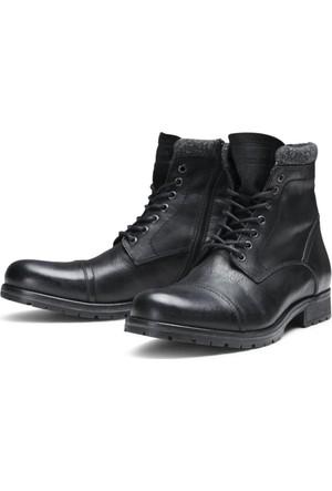 Jack & Jones Bot Jfwmarly Leather 12125322-BLK
