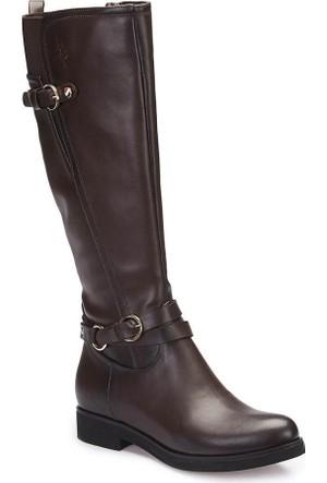 U.S. Polo Assn. A3377305 Kahverengi Kadın Basic Casual Çizme