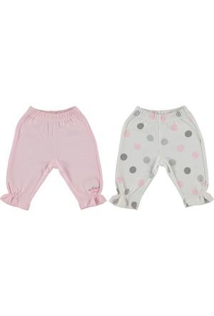 Bebetto Penye Puanlı 2'li Kız Bebek Pantolon