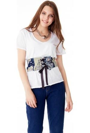 Bsl Fashion Desenli Korse 9412