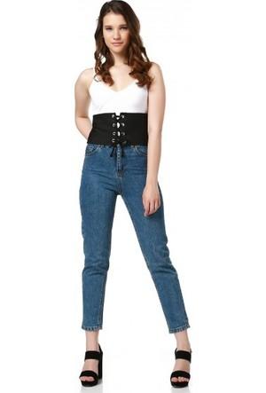 Bsl Fashion Siyah Korse 9283