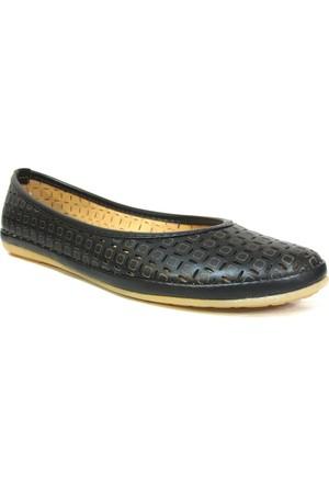 Paprika 12665 Siyah Bayan Babet Ayakkabı