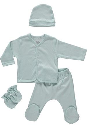 Baby Corner Transferli Ribana 4'lü Hırkalı Set