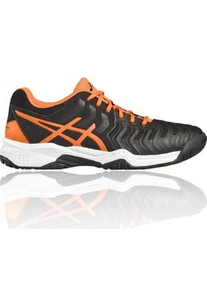 Asics Gel Resolutıon 7 Gs Siyah Çocuk Tenis Ayakkabısı