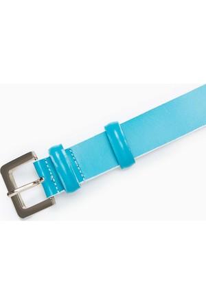 U.S. Polo Assn. Kadın Y6Ad040 Kemer Mavi