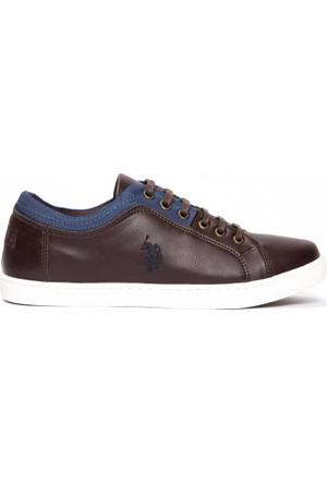 U.S. Polo Assn. Erkek K7Holmes Ayakkabı Kahverengi