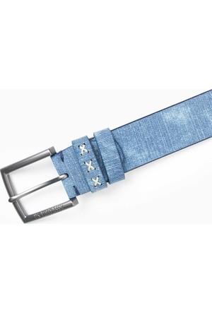 U.S. Polo Assn. Erkek K7As010 Kemer Mavi