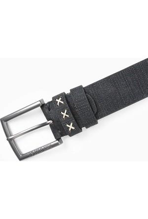 U.S. Polo Assn. Erkek K7As010 Kemer Siyah
