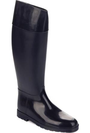 Dujour Paris Siyah Binici Çizme