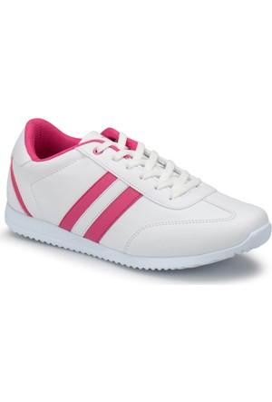 Kinetix Avıla W Beyaz Fuşya Kadın Sneaker Ayakkabı