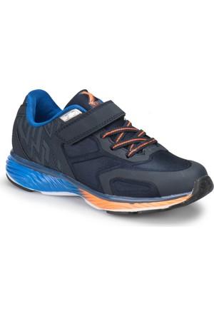 Kinetix Lineer Lacivert Neon Turuncu Saks Erkek Çocuk Sneaker Ayakkabı