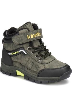 Kinetix Negro HI Haki Neon Yeşil Erkek Çocuk Outdoor Ayakkabı