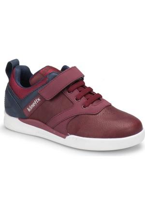 Kinetix Suttor Bordo Lacivert Erkek Çocuk Sneaker Ayakkabı