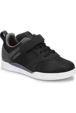 Kinetix Suttor Siyah Gri Erkek Çocuk Sneaker Ayakkabı