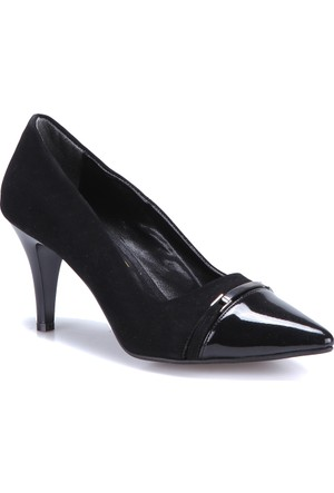 Miss F F17136 Z Siyah Kadın Ayakkabı