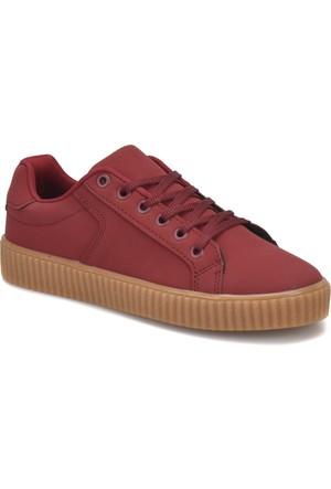 Torex Alen W Bordo Kadın Sneaker Ayakkabı