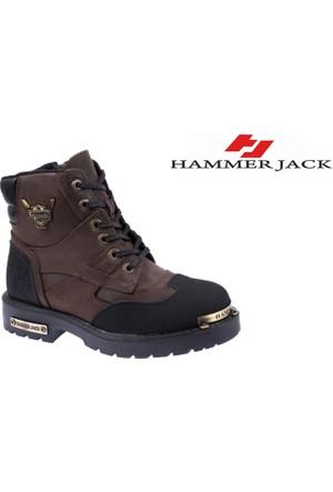 Hammer Jack Hakiki Deri Kadın Bot - Hmr 16550Z Kahverengi