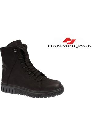 Hammer Jack Hakiki Deri Kadın Bot - Hmr 17945 Siyah