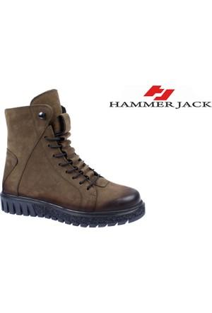 Hammer Jack Hakiki Deri Kadın Bot - Hmr 17945 Yeşil