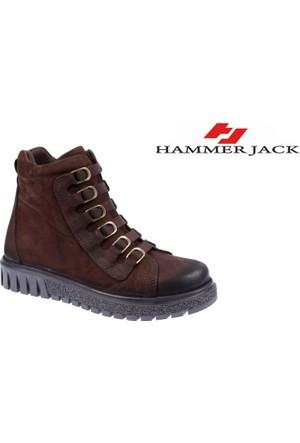 Hammer Jack Hakiki Deri Kadın Bot - Hmr 17955 Kahverengi