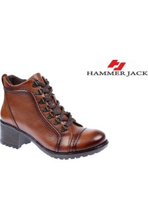 Hammer Jack Hakiki Deri Kadın Bot - Hmr 2978 Taba