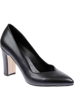 Shalin Klasik Kadın Ayakkabı - Tlg 13 Siyah